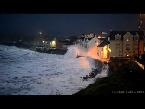 Storm, Lahinch, Co. Clare, Ireland - January 2014