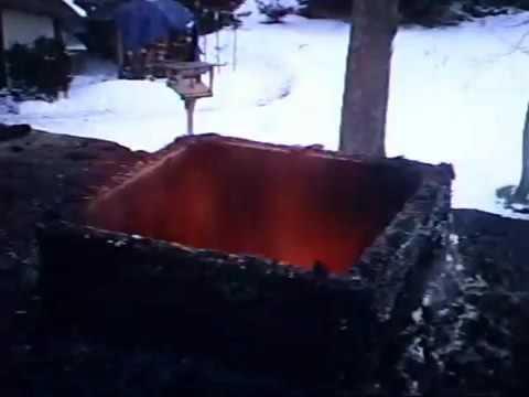 дымоход печи на дровах