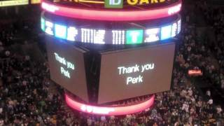 Celtics montage: 'Thank you Perk'