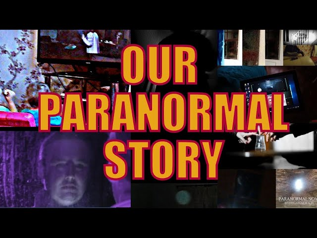 Why are guys from South Wales Valleys getting messages from spirits and Aliens? Our Paranormal Story
