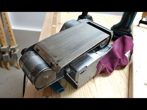 Making A Stainless Steel Platen For My Belt Sander