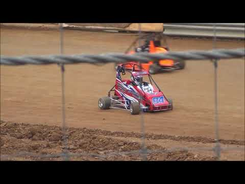 ERM Racing Blue Plate Quarter Midget at Shellhammers Speedway 5/11/2019