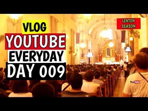 VISITA IGLESIA SA MGA SIMBAHAN | DAY 009 | EVERYDAY VLOGGING | HAMILTON BLANZA | VLOG 027