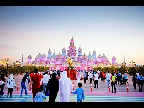Global Village Dubai Walk Through 2017, Awesome Dubailand DSF.