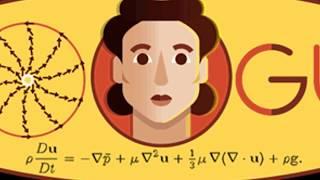 Olga Ladyzhenskaya's 97th Birthday #Olga Ladyzhenskaya #googledoodle