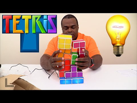 TETRIS LIGHTS Unboxing & Setup!