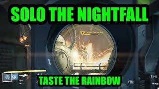 A Wild Rainbow Burn Appears! (Solo the Nightfall)