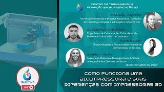 COMO FUNCIONA UMA BIOIMPRESSORA E SUAS DIFERENÇAS COM IMPRESSORAS 3D