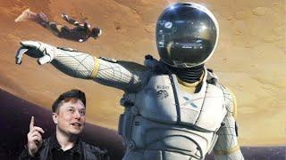 Удивительные скафандры SpaceX! Новые технологии от Илона Маска!
