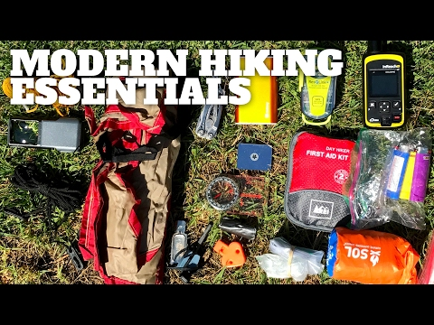 Modern Hiking Essentials - Hiking Survival Gear