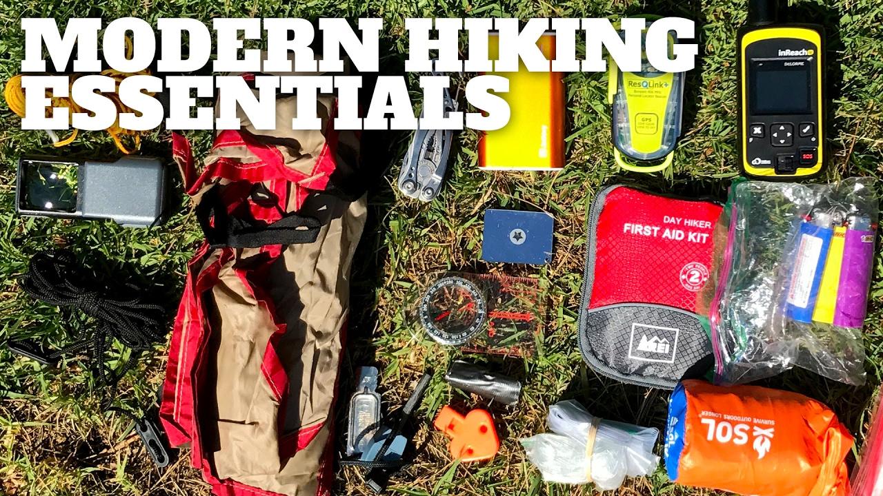 The Modern Hiking Essentials Hikingguy Com