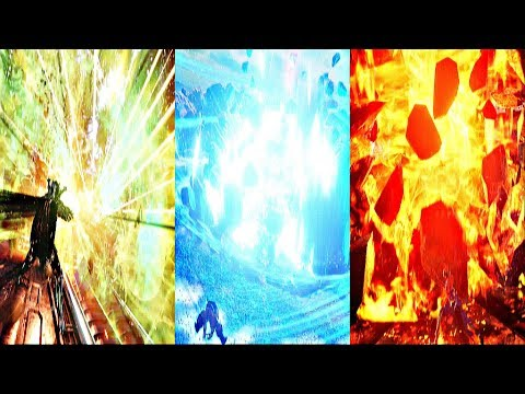 Jump Force - All Ultimate Attacks (All Characters)
