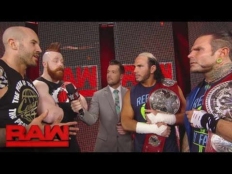 Thumbnail: Cesaro & Sheamus welcome The Hardy Boyz to Team Red: Raw, April 17, 2017