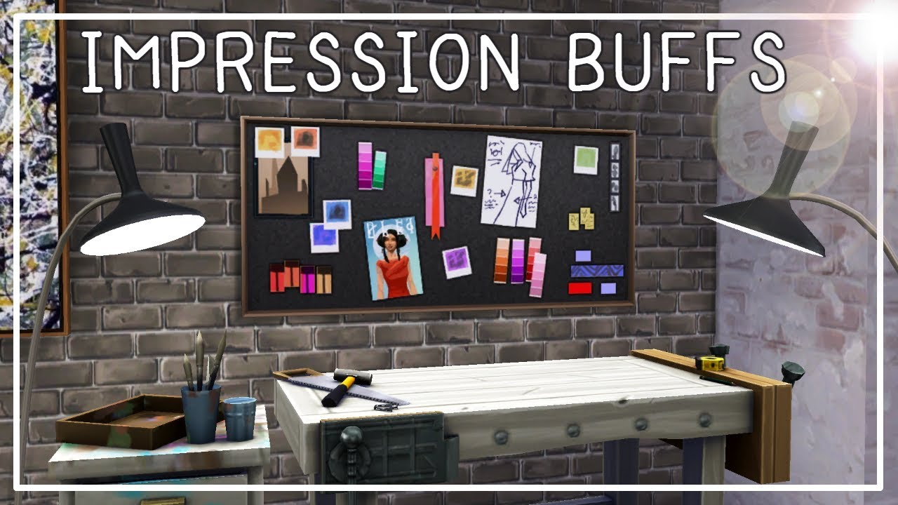 Kate Interieur Design Impressies.How To Get Impression Buffs Style Influencer Career The Sims 4