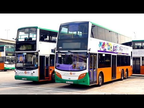 Hong Kong Buses - Portrait of NWFB Double Deckers 2015