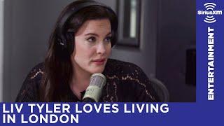 Liv Tyler loves living in London. Hear the full interview here: htt...
