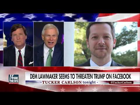 Democrat Lawmaker Threatens Trump In Vulgar Facebook Post