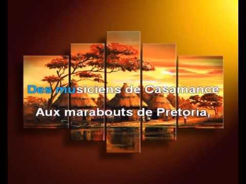 Karaoké Afrique Adieu - Michel Sardou Fm Production