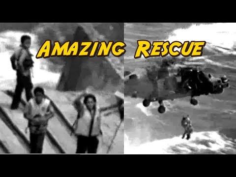 PUERTO RICO: Amazing! British Fleet & Coast Guard Save Mother & Children From Capsized Boat.