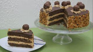 Gâteau Ferrero Rocher au Noisette | Yummy Français