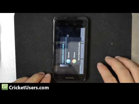 CricketUsers.com - Cricket Wireless ZTE Engage V8000 Barcode Scanner Test (autofocusing camera)
