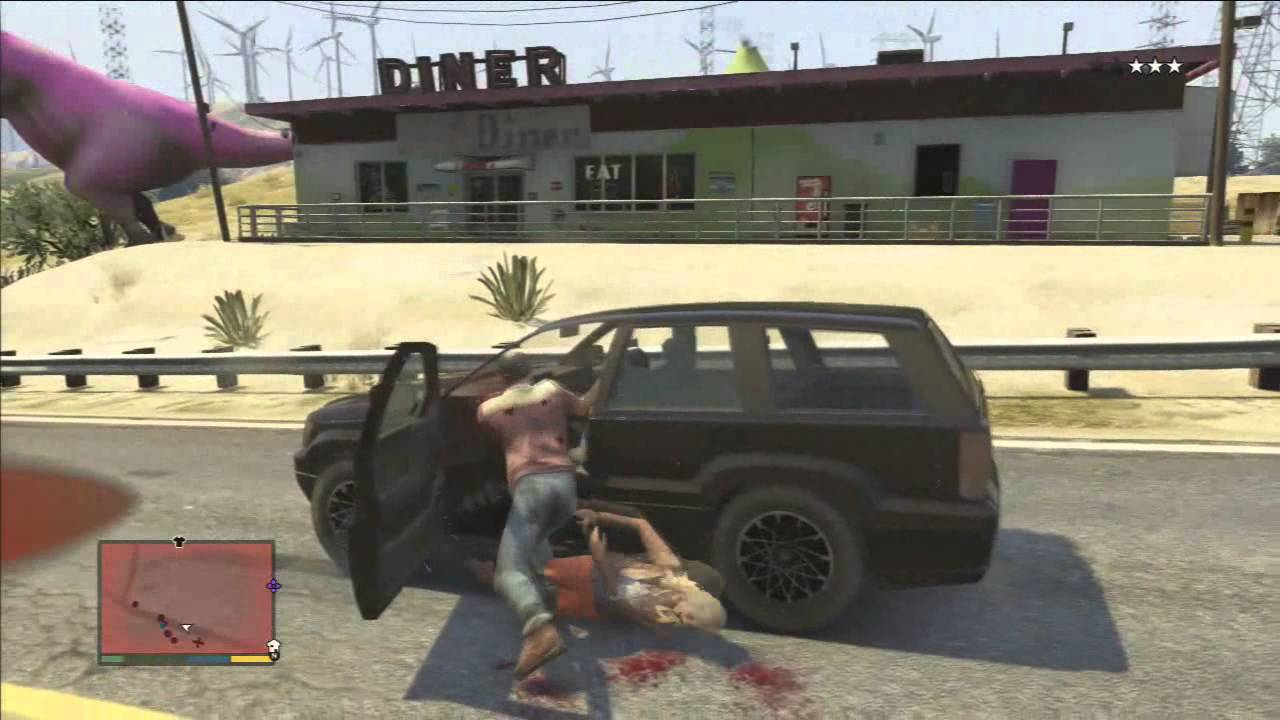 Test Grand Theft Auto 5 GTA V PS3 YouTube