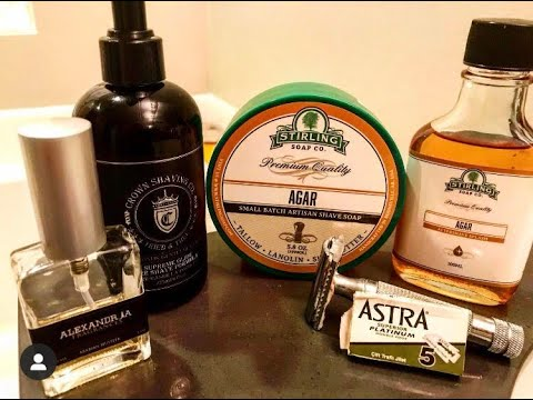 "Shave and Review of ""Agar"" AKA ""OUD"" by Stirling Soap Co."