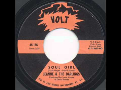Jeanne & The Darlings - Soul Girl (1968)