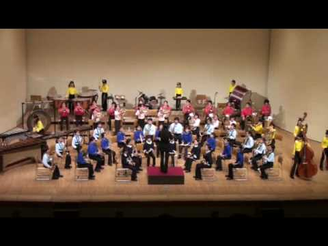 elementary school symphonic band of Chiba prefecture,Japan