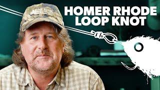 How To Tie a Homer Rhode Loop Knot