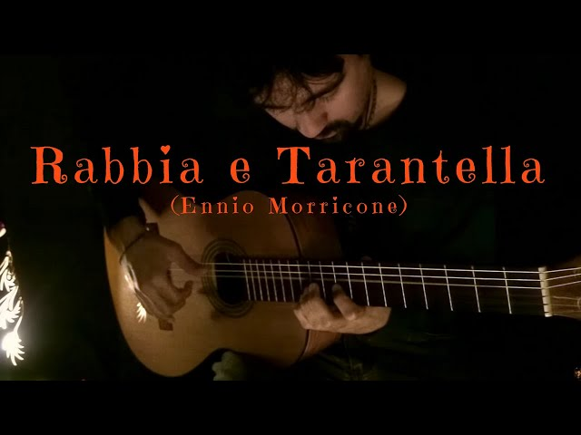 Rabbia e Tarantella on Classical Guitar (Ennio Morricone) by Luciano Renan