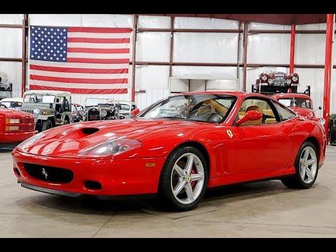2002 Ferrari 575 Marnello Red