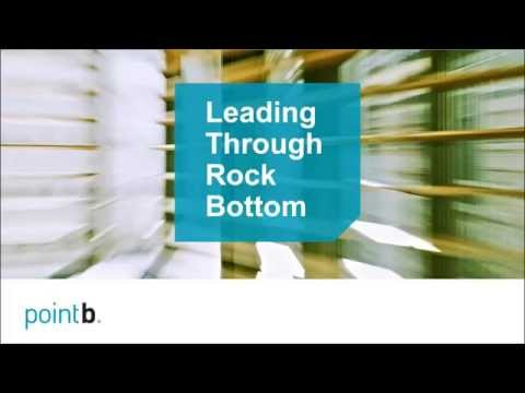 Leading Through Rock Bottom—Improving Executive Decision Making in Times of Crisis | webinar replay