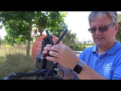 VidOlink Reacher Wireless HD SDI Demo Setup - 3000 Foot Range