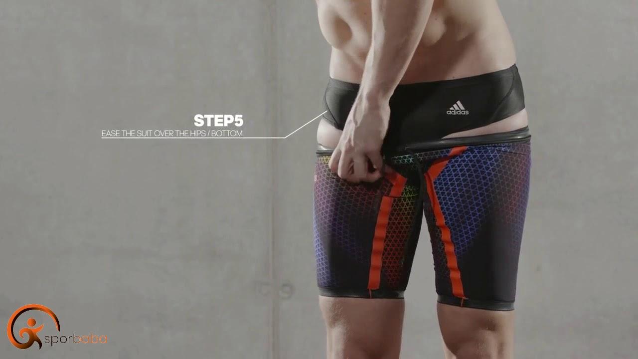 c49f5b3a44 adizero xvi male fitting guide adidas swim-Naıl Giyilir? - YouTube