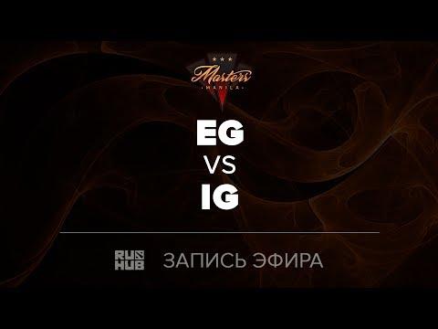 Evil Geniuses vs Invictus Gaming, Manila Masters, game 2 [Adekvat, Inmate]