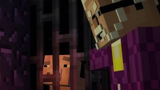 REUBEN IS ALIVE and TRAPPED !?! - Minecraft Story Mode EP8 P3