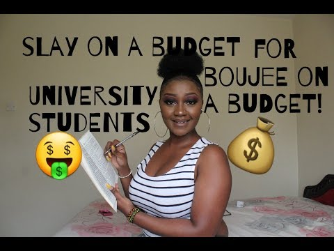 HOW TO:SLAY ON A BUDGET FOR UNIVERSITY STUDENTS IN KENYA| KENYAN YOUTUBER - GIRL TALK
