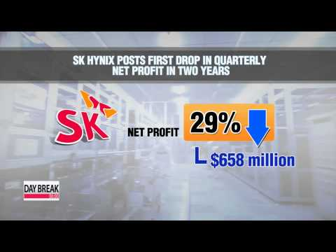 SK Hynix posts its first drop in quarterly profit in two years