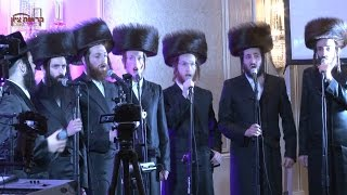 aron wertzberger and bobov choir motzei shabbos zemiros