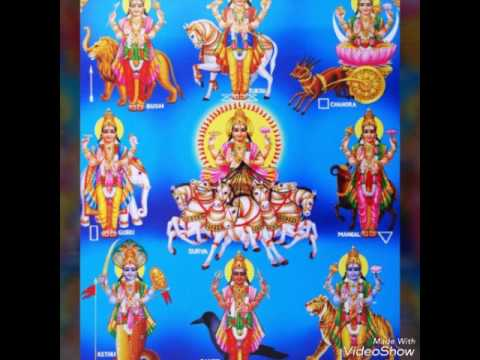 Navagraha Prayer to Start the day Positive