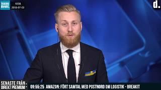 Trading Direkt 2018-07-03: Almedalen, börsstiltje och Riksbanksbesked