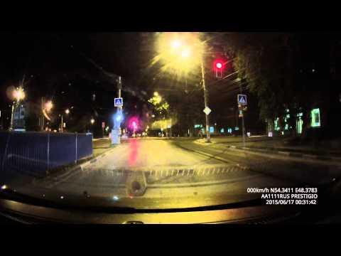 Видео Prestigio Roadrunner 570 GPS - ночь