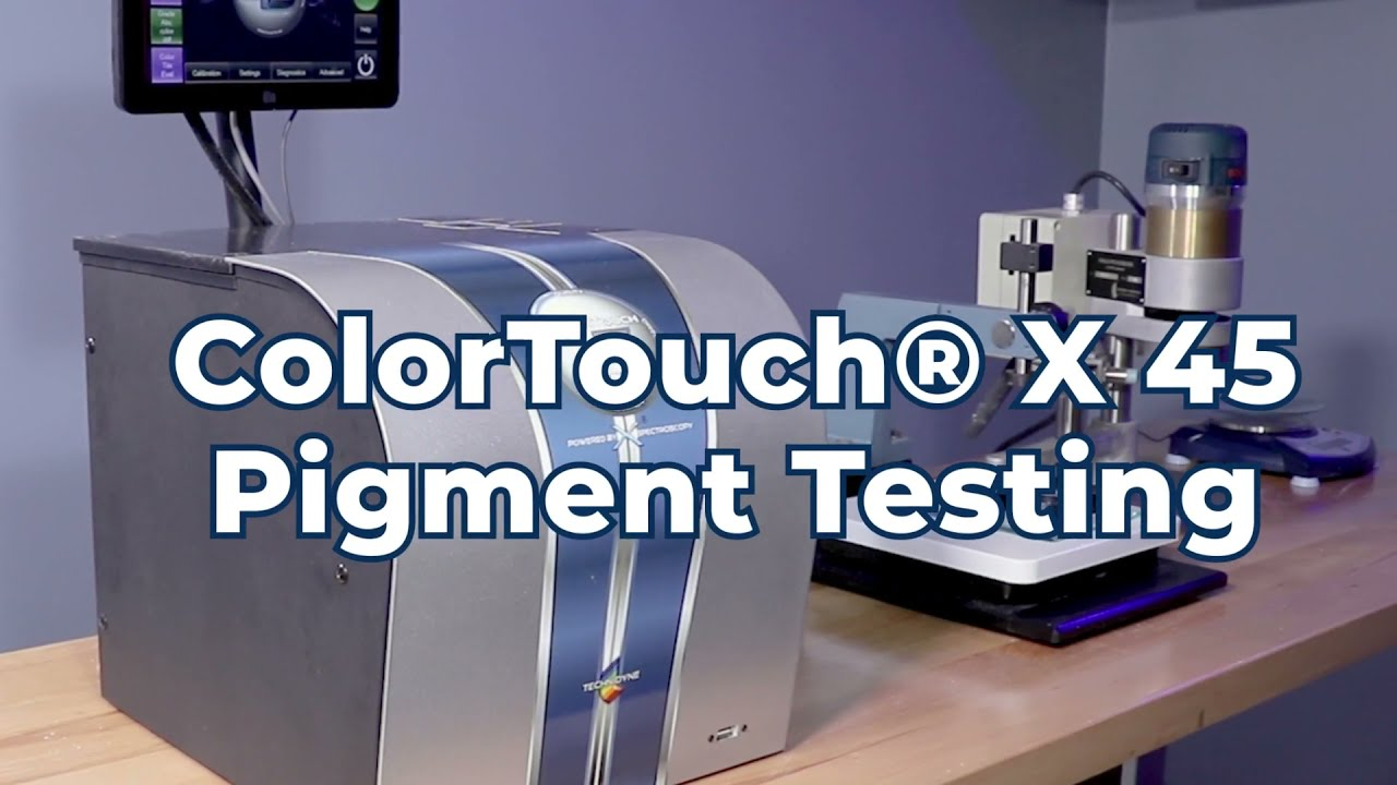 Learn the pigment testing process using the new ColorTouch® X45