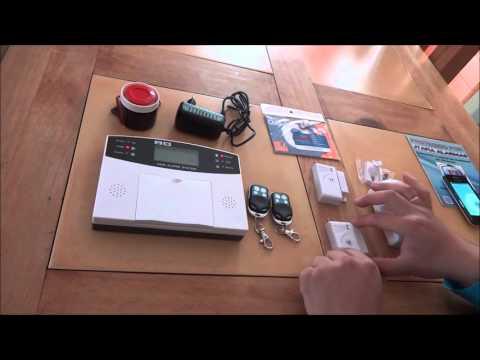 Tutorial De Instalacion Alarma Gsm Para Casa, Oficinas.