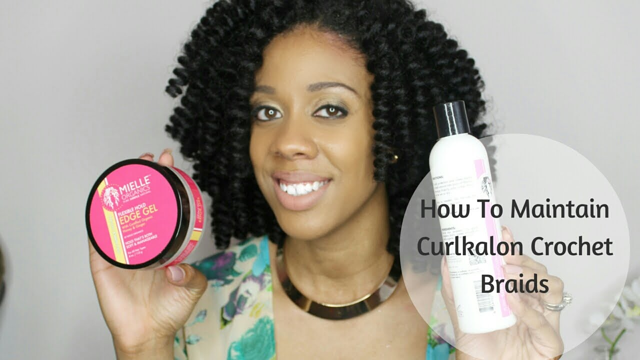 4 Easy Steps To Maintain Your Crochet Braids Curlynikki Natural