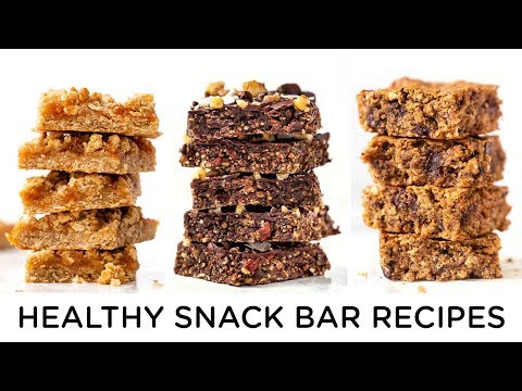 Breakfast bars recipe gluten free vegan