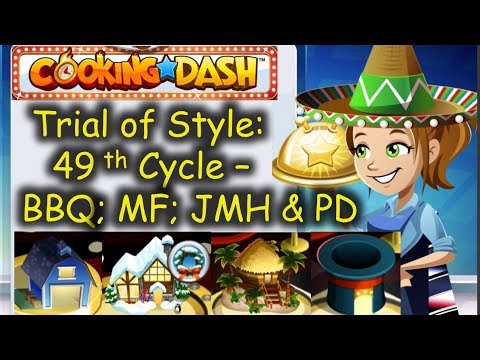 TOS 49th Cycle = 2 Auto Chefs Out Of 4 TOS Milestone Restaurants Y'all. :D (Cooking Dash)