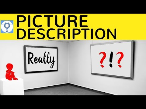 how to write a picture description interpretation bildbeschreibung in englisch - Bildbeschreibung Englisch Beispiel