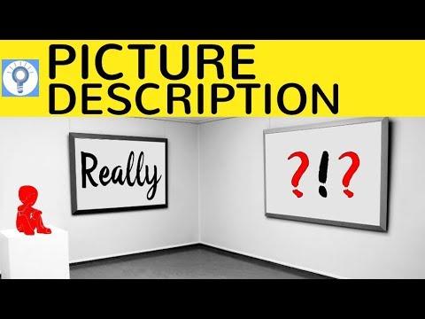 how to write a picture description interpretation bildbeschreibung in englisch - Englisch Bildbeschreibung Muster